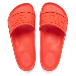 Hunter Orange Slides New
